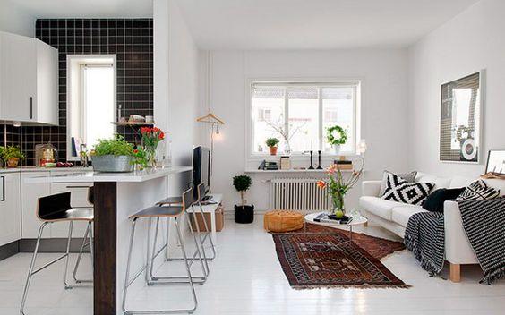 Hogar diez sal n comedor y cocina en el mismo espacio for Comedor y cocina en un mismo ambiente
