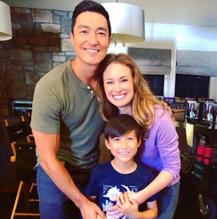 Daniel Henney's picture along with his co-star