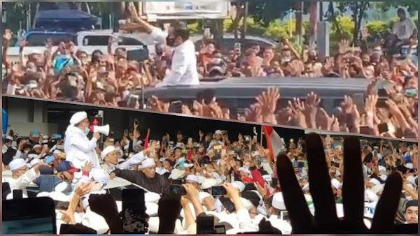 Menurut Ferdinand, Kerumunan Jokowi di NTT Sama dengan Massa Habib Rizieq di Bandara
