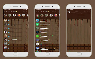 Chocolate Theme For YOWhatsApp & Fouad WhatsApp By Leidiane