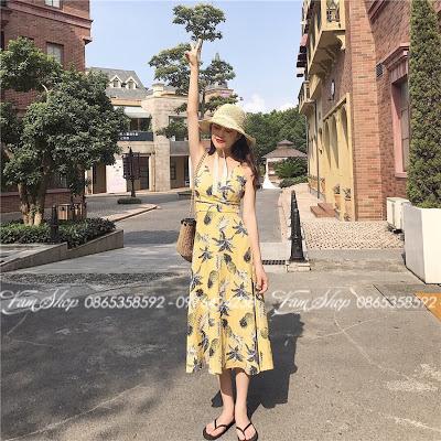 Shop ban vay maxi di bien tai Giang Vo