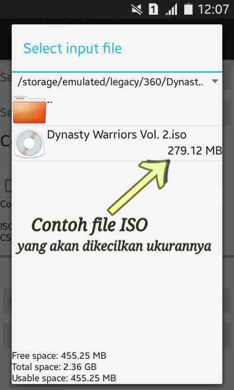 Ciso – Psp Iso Compressor Apk Mengecilkan Ukuran File Psp