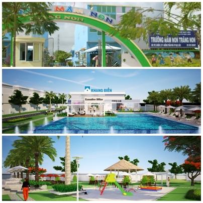 Tiện ích khu nhà phố Merita Khang Điền Quận 9