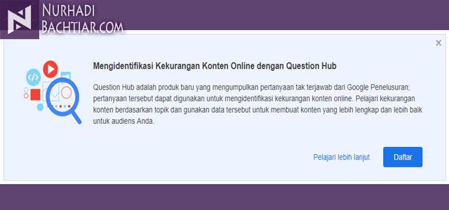 Question Hub : Fitur Pembantu Konten Kreator Untuk Mencari Ide
