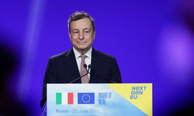 Italy's PM Mario Draghi Dismisses China's COVID-19 Vaccine, Casts Doubt on Sputnik