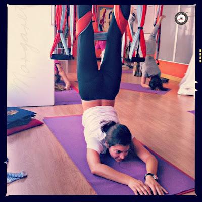 bienfaits yoga aérien