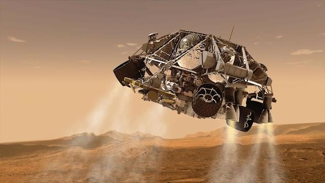 CHINA LANDING ON MARS