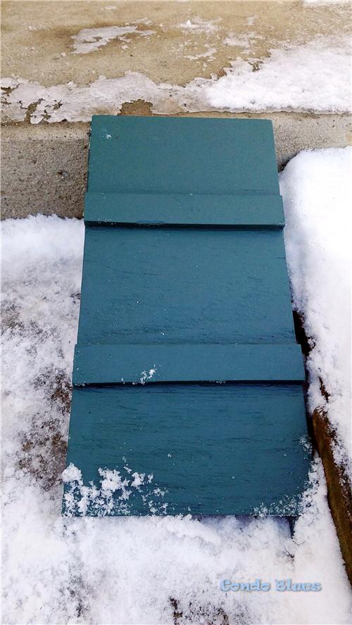 DIY outdoor ramp