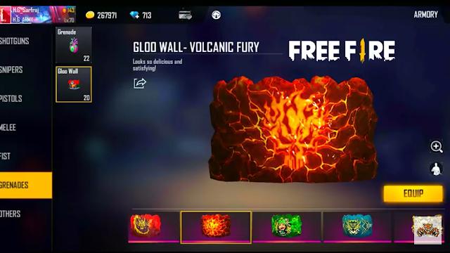 Top 10 Best Gloo Wall Skin In Garena Free Fire.
