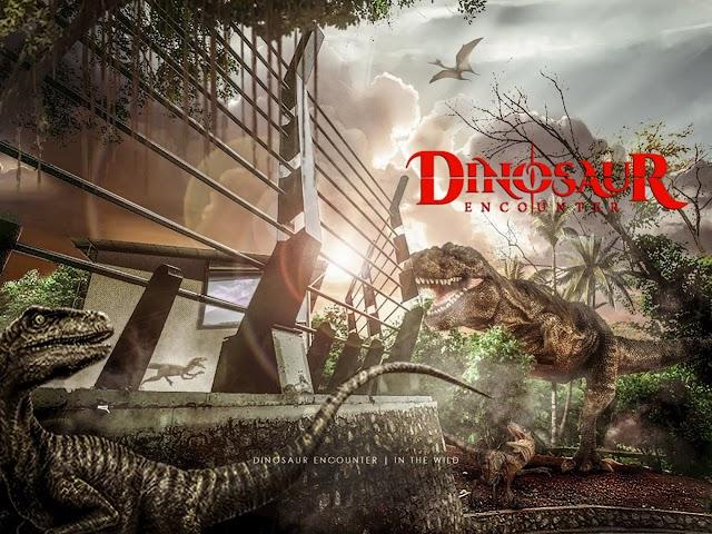 Dinosaur Encounter Melaka, Tarikan Terbaru di Zoo Melaka
