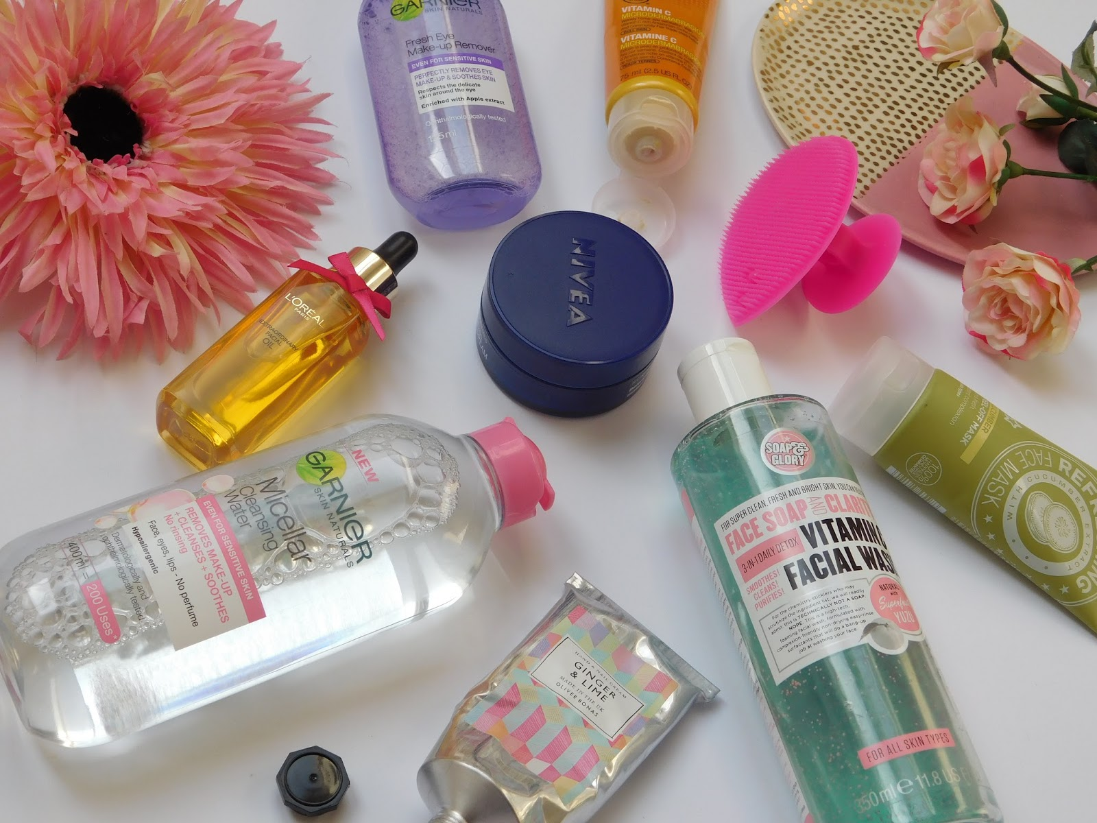 My night-time routine products