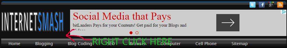 Customizing Blogger Templates Using Chrome Developer Tools