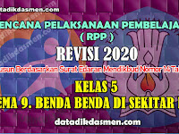 RPP KELAS 5 TEMA 9 SD/MI KURIKULUM 2013 REVISI 2020