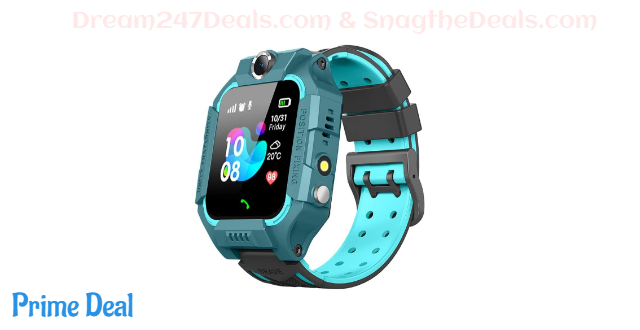 40% off LIGE Kids Smart Watch Phone GPS Watch with SOS 2 Way Call SIM Card Built-in Camera Alarm Clock for Children 3-12 Years Old Children