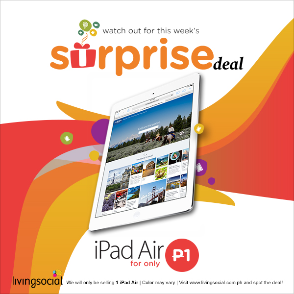 LivingSocial iPad Surprise Deal