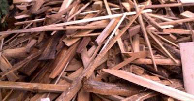 Limbah kayu untuk kerajinan