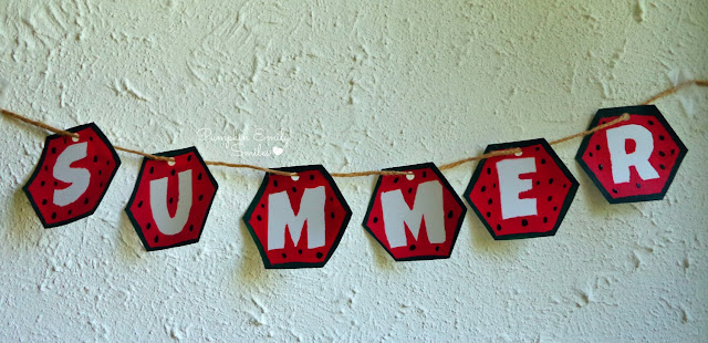 Watermelon Summer Garland