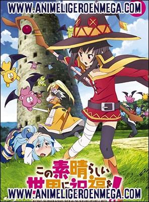 Descargar Kono Subarashii Sekai ni Shukufuku wo! 2 10/10 + Ova 01/01 + Pelicula MP4 HD Ligero [720p] [Sub Español] [MF-MG-GD] BD