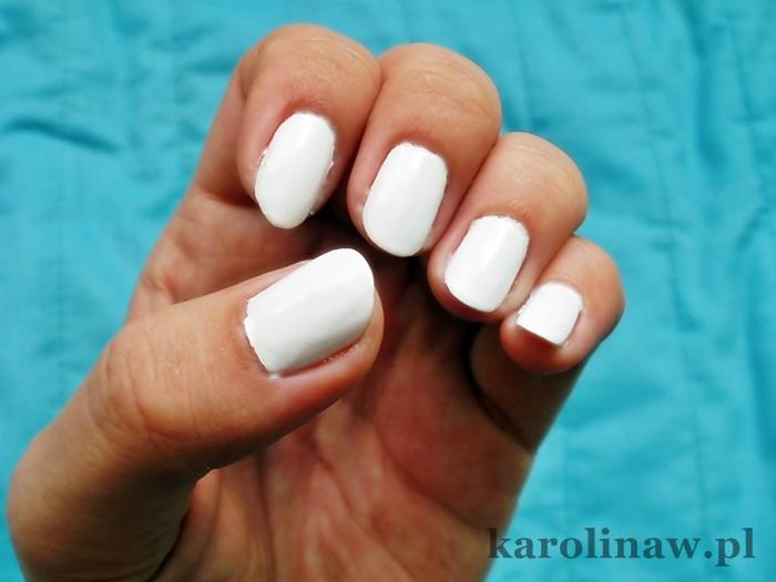 Golden Rose Ice Chic nr 4 biały lakier do paznokci idealna biel trwały kryjący biały biel
