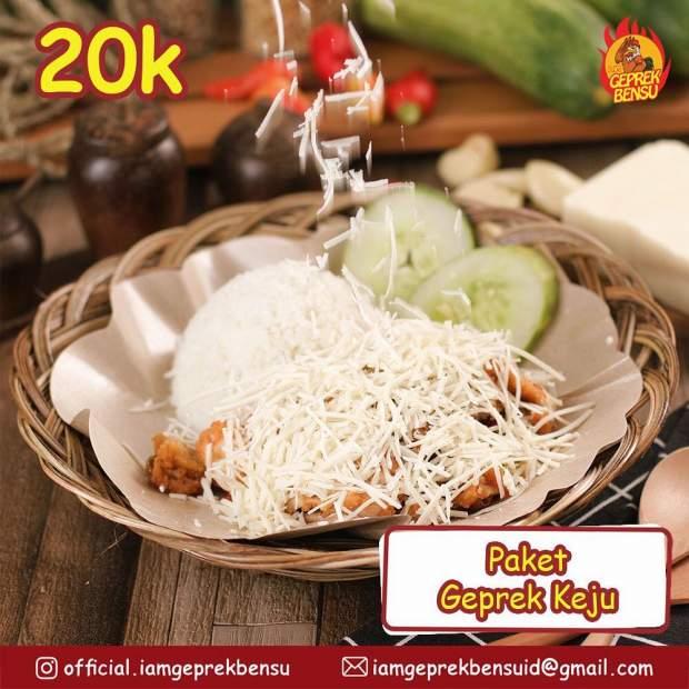 Rincian Modal Usaha Franchise Ayam Geprek Bensu | Contoh ...