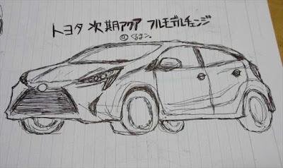 トヨタ次期型アクア フルモデルチェンジ最新情報