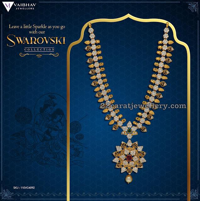 Swarovski Designs by Vaibhav Jewellers
