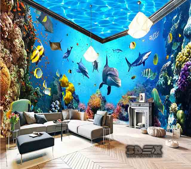 Wallpaper For Walls In Living Room Themes