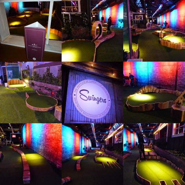 Swingers Crazy Golf in London, September 2014