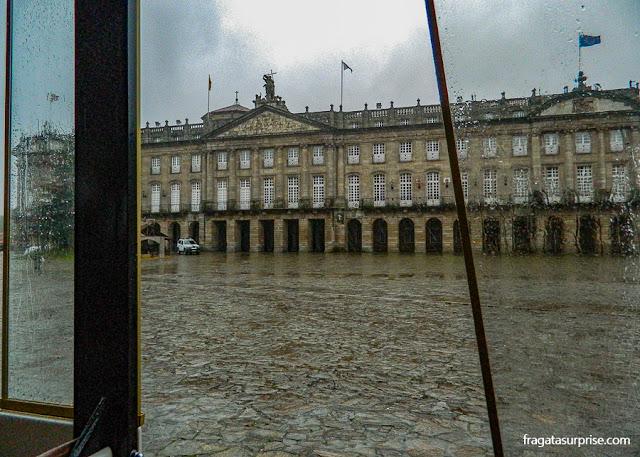 Pazo do Raxoi, sede da Presidência da Comunidade Autônoma da Galícia, Santiago de Compostela