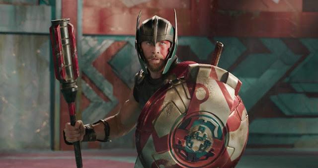 Hemsworth en el teaser trailer de Thor: Ragnarok