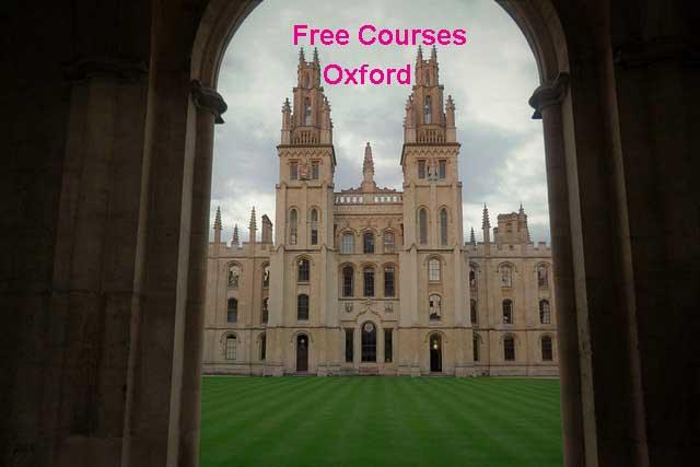 كورسات جامعة أكسفورد