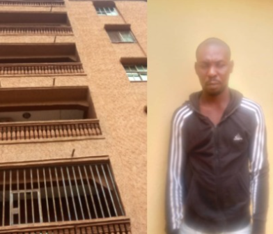 NEWS: Lady dies after her boyfriend allegedly pushed her from a five-storey building in Anambra (photos )