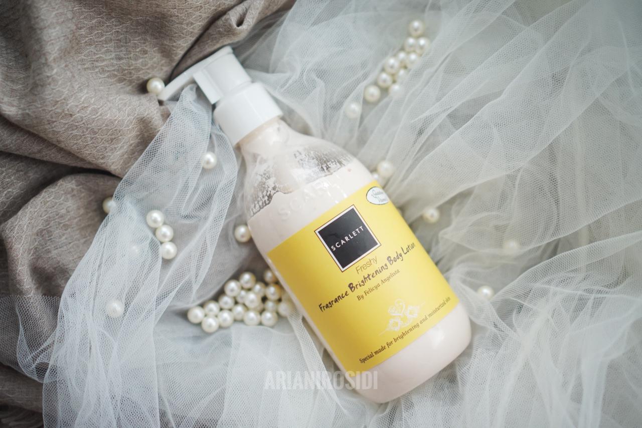 Scarlett Freshy Fragrance Brightening Body Lotion,