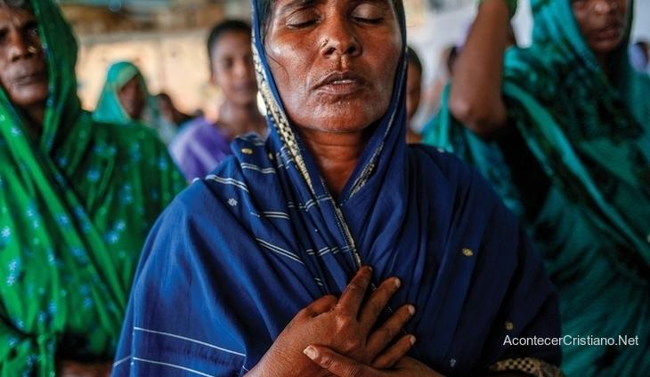 Mujer cristiana de Asia Central