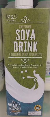 M&S Soya Milk (sweetened) Plant Kitchen