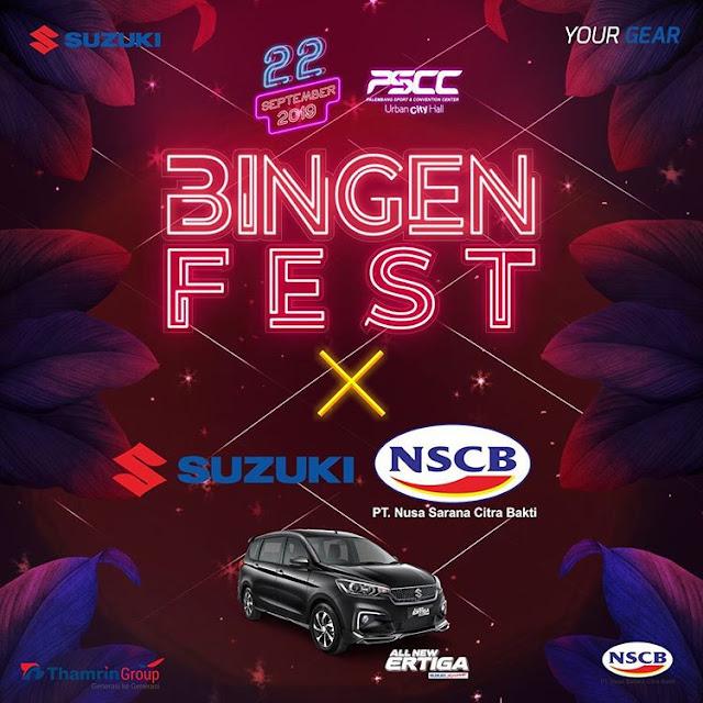 Suzuki NSCB Sumsel Bingen Fest 2019