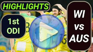 AUS vs WI 1st ODI 2021
