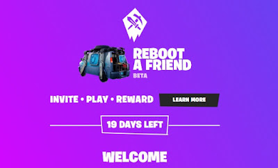Fn.gg/rebootafriend New Features Reboot a Friend