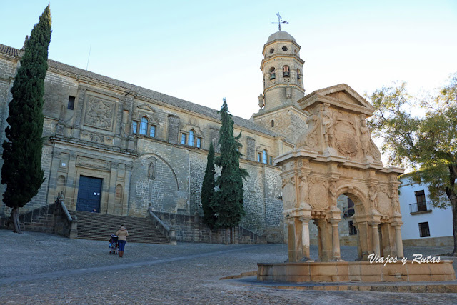 Plaza de Santa María, Baeza