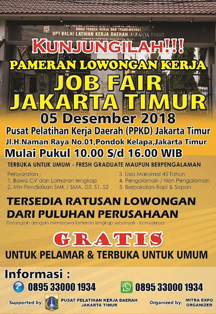 Job Fair di Jakarta Timur