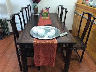 bàn ghế ăn gỗ trắc