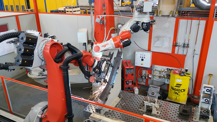 Автоматическое производство металлических конструкций