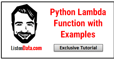 Python Lambda Function with Examples