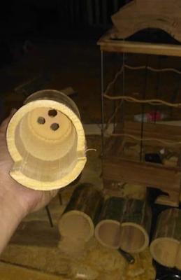 素晴らしい竹の設定でラブバード