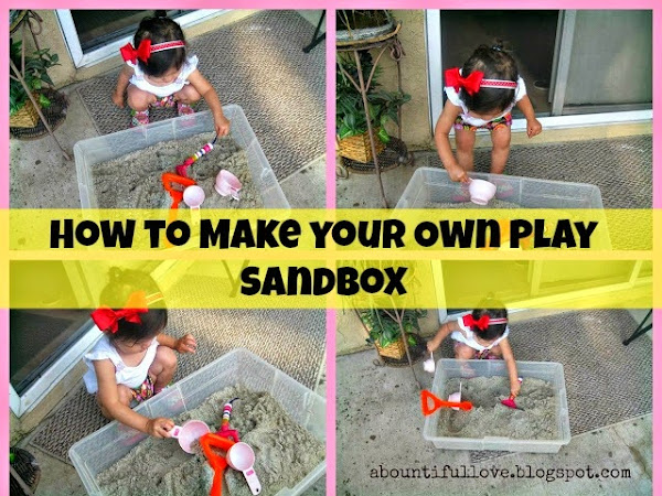 How to Make your own Play Sandbox