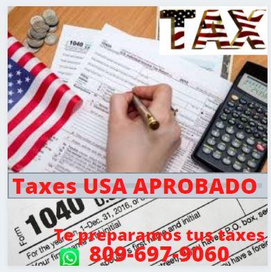 Prepárese para los impuestos en los Estados Unidos