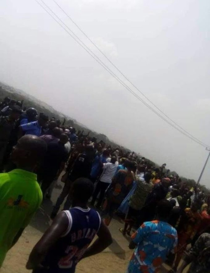 Serious Clash Between Hausa Community And Police In Abeokuta, Ogun State (photos)