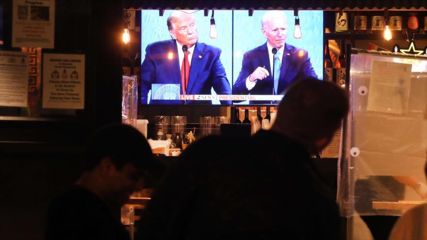 Sondeo: Biden gana el último debate presidencial de EEUU