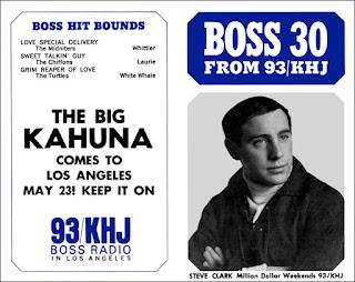 KHJ Boss 30 No. 46 - Steve Clark