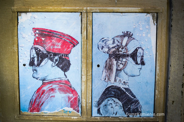 Florencja street art Dom z Kamienia